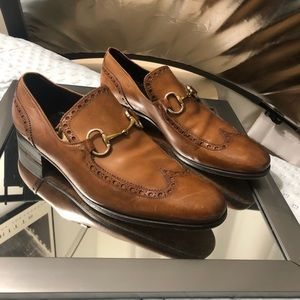 Gucci Classic Horsebit Loafers Size 44